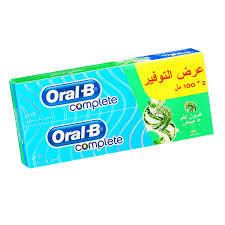 Oral B Toothpaste Complete 2x100ml