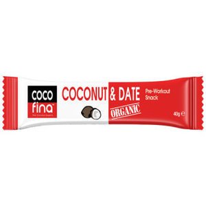 Cocofina Organic Coconut & Date Bar 40g