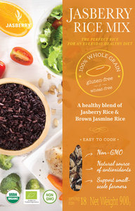 Jasberry Organic Mixed Rice 500g