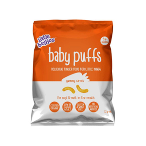 Little Bellies Organic Carrot Baby Puffs 12g