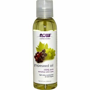 Now 100% Pure Grapeseed Oil 118ml