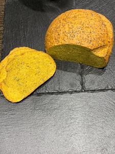 Organic Turmeric Vegan Bread 1loaf