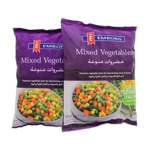 Emborg Mixed Vegetables 2x450g