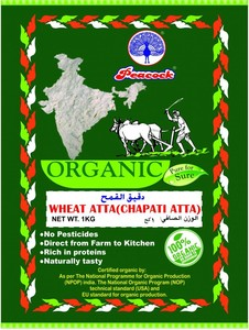 Peacock Organic Wheat Flour 1kg