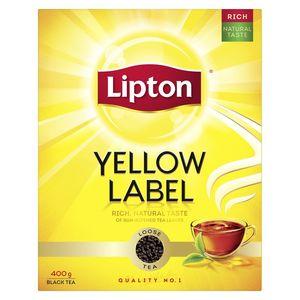 Lipton Yellow Label Black Loose Tea 400g