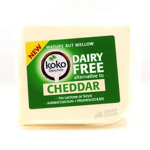 Koko Dairy Free Cheddar Cheese Alternative 200g