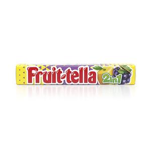 Fruittella  2 In 1 Lemon Grape 32g