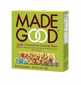Made Good Granola Bar Apple Cinnamon 114g