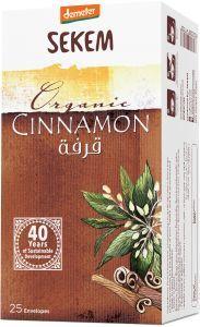 Demeter Sekem Tea Bag Cinnamon Organic 25s