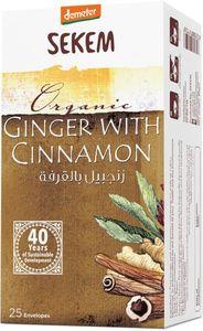 Demeter Sekem Tea Bag Cinnamon With Ginger Organic 25s