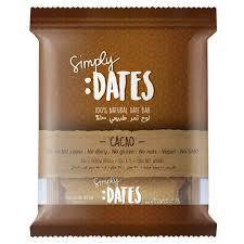 Simply Dates Dates Bar Cacao 5x30g