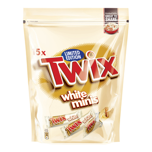 Twix White Chocolate Minis Pouch 300g