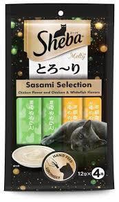 Sheba Cat Food Melty Chicken Flavor 48g