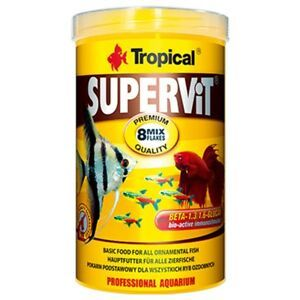 Tropical Fish Food Supervit 8 Mix Flakes 250ml