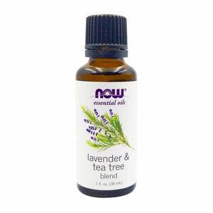 Now Essential Oil Lavender & Tea Tree 100% Pure 30ml