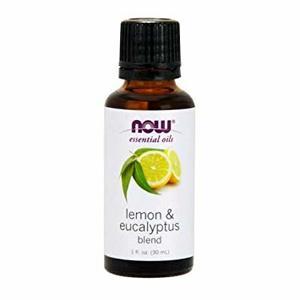 Now Essential Oil Lemon & Eucalyptus 100% Pure 30ml