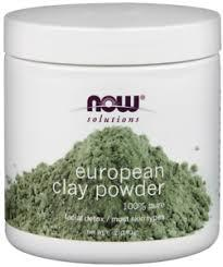 Now Solutions European Clay Powder 100% Pure 170g