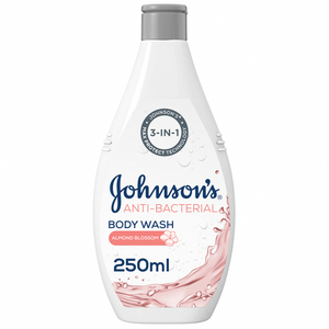 Johnson's Body Wash Anti-Bacterial Almond Blossom 250ml