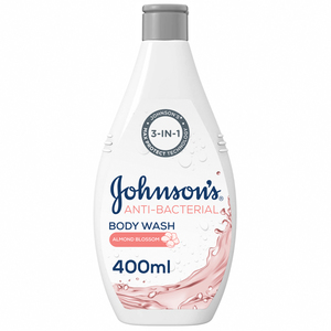 Johnson's Body Wash Anti-Bacterial Almond Blossom 400ml
