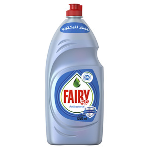 Fairy Platinum AntiBacterial Dish Washing Liquid Soap 1.5L