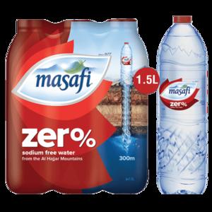 Masafi Zero 6x1.5L