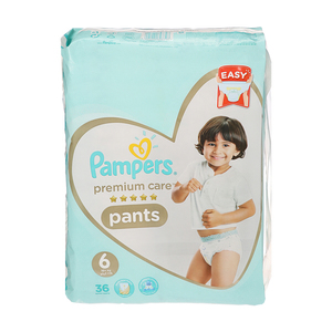 Pampers Premium Care Pants S6 36s