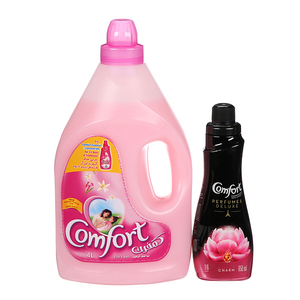 Comfort Floral Soft Fabric Softener 4L+650ml