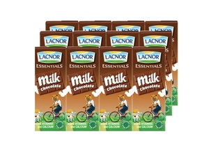 Lacnor Chocolate Milk 12x180ml