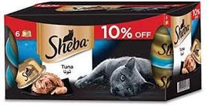 Sheba Flakes Tuna 6x80g