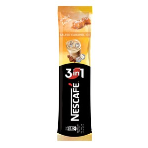 Nescafe 3 In 1 Salted Caramel Ice Instant Coffee Sachet 21g