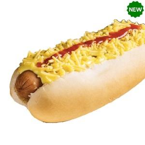 Hotdog Sandwich With Cheese 1pc