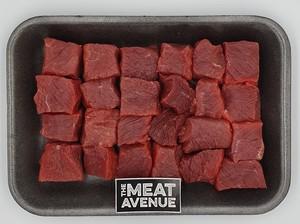 Australian Beef Cubes Topside   Medium 500g
