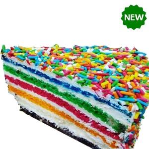 Rainbow Cake 1 slice