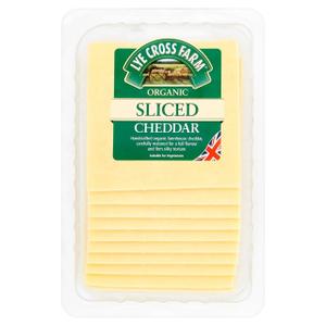 Lye Cross Farm Organic Sliced Cheddar 200g