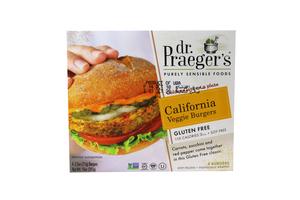 Dr Praeger's California Veggie Burger Gluten Free 10oz