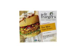 Dr Praeger's Tex Mex Veggie Burger Gluten Free 10oz