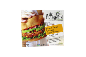 Dr Praeger's Beans & Quinoa Veggie Burger Gluten Free 10oz