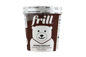 Frill Bursting Intense Chocolate Ice Cream Cup 16oz