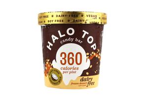 Halo Top Candy Bar Ice Cream Cup 16oz