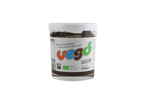 Vego Organic Hazelnut Chocolate Spread 200g