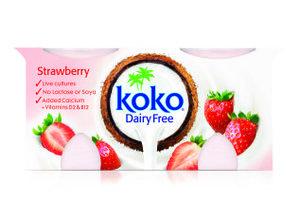 Koko Strawberry Yoghurt Dairy Free 250g