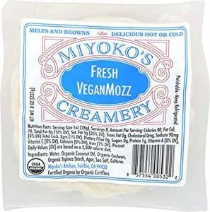 Miyoko Organic Mozzarella Cheese 8oz