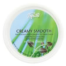 Tofuttti Cream Cheese Herbs & Chives 8oz