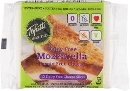 Tofutti Mozzarella Cheese Soy Slices 8oz