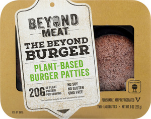 Beyond Meat Burger Patties 8oz