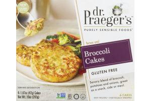 Dr Praeger's Broccoli Cakes Gluten Free 10oz
