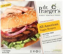 Dr Praeger's American Veggie Burger Gluten Free 8oz