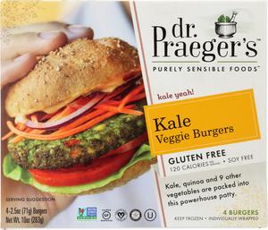 Dr Praeger's Kale Veggie Burger 10oz