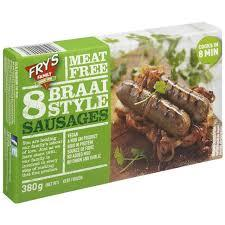 Frys Meat Free Braii Sausages 380g