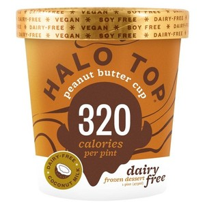 Halo Top Peanut Butter Ice Cream Cup 16oz